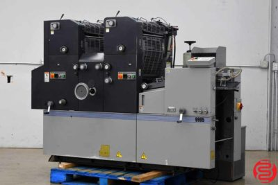 AB Dick 9995 (Ryobi 3302) Two Color Offset Printing Press - 072219081814