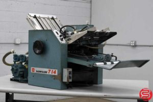 Baum 714 Vacuum Feed Paper Folder - 072619082411
