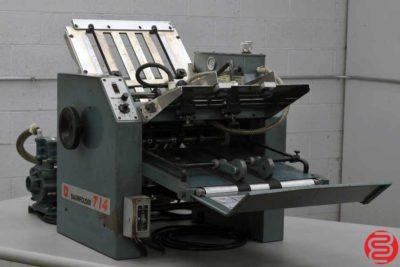 Baum 714 Vacuum Feed Paper Folder - 072619082411