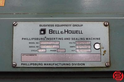 Bell and Howell Phillipsburg A347 5 Pocket Inserter - 071819105607