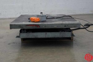 Copperloy Hydraulic Lift Table - 072619101830