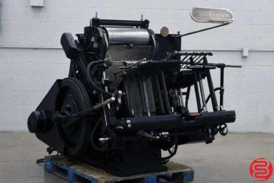 """Heidelberg 10"""" x 15"""" Windmill Letterpress - 072319024308"""