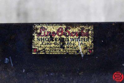 Line-O-Scribe Showcard Writer - 071119102107