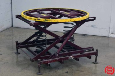 Spring-Actuated Pallet Carousel Skid Positioner - 071219085911