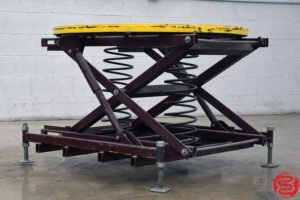 Spring-Actuated Pallet Carousel Skid Positioner - 071219091426