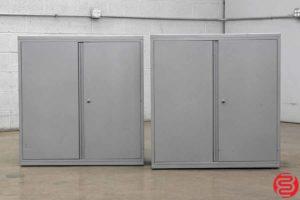 Storage Cabinets - Qty 2 - 071119090442