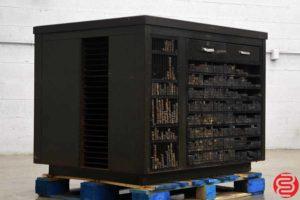 Thompson Letterpress Cabinet w/ Composing Stone - 072919013147