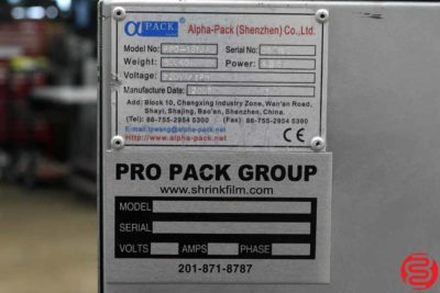2008 Alpha-Pack PPG-1519A Shrink Tunnel - 080119115629