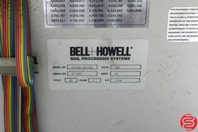 Bell and Howell Mailstar 400 6 Pocket Inserter - 080519074307
