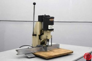 Challenge JO Tabletop Single Spindle Paper Drill - 081319014257