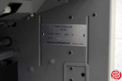 Duplo DC-10 Mini 10 Bin Collator - 080719073351