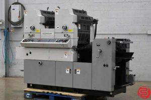 Hamada H234K Two Color Offset Printing Press - 080219122351