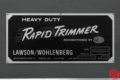 Lawson Wohlenburg Rapid Trimmer A 43-300 Three Knife Trimmer - 080119094106