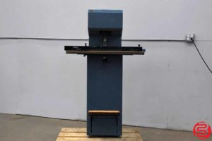 Spinnit FM-2 Manual Lift Single Spindle Paper Drill - 081219050357