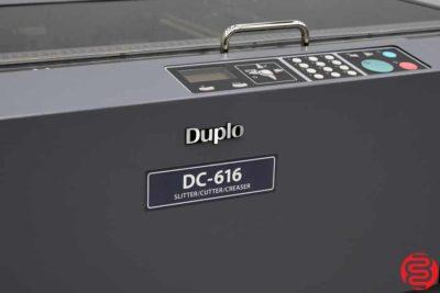 2015 Duplo DC-616 Slitter Cutter Creaser - 090919115006