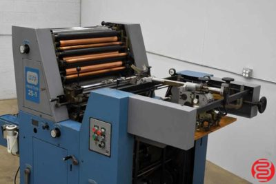 ATF Profiteer 25-1 Single Color Offset Printing Press - 083019121019