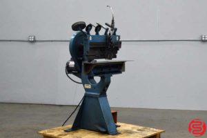 Acme Interlake Model P Multiple Head Flat Book Saddle Stitcher - 092119105554