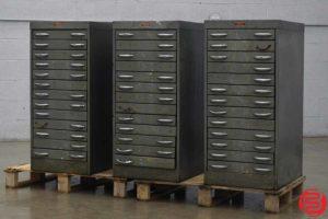 American Flat Filing Cabinets - Qty 3 - 091319093604