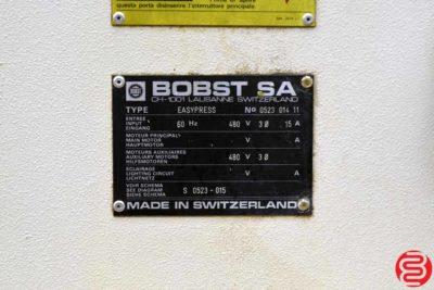 BOBST EasyPress 142 Die Cutter - 091919113242