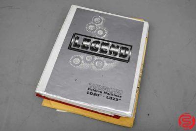 "Baum Legend 1020 20"" x 26"" Pile Feed Paper Folder - 083019043948"