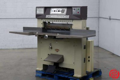 Challenge 305 CDC Hydraulic Programmable Paper Cutter - 083019105321