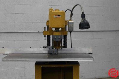 Challenge JF Single Spindle Hydraulic Paper Drill - 092619075420
