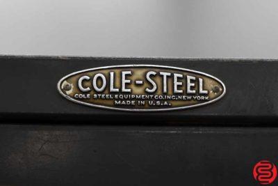 Cole-Steel Flat Filing Cabinets - Qty 2 - 082619110535