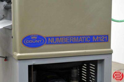 Count Numbermatic M121 Perf Slit Score Numbering Machine - 091119010127