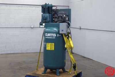 Curtis 80 Gallon 5 HP Vertical Air Compressor - 082719113942