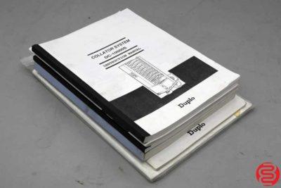 Duplo DC-10000S 20 Bin Collating System - 090919085713