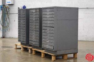 Flat Filing Cabinets - Qty 3 - 091319091842