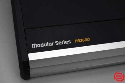 GBC PB2600 Modular Electric Comb Opener - 082619090146