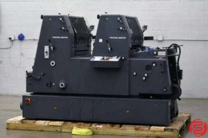 Heidelberg GTOZP 52 Two Color Offset Printing Press - 092019012013
