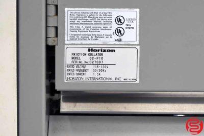 Horizon QC-P10 10 Bin Collator - 082819045619