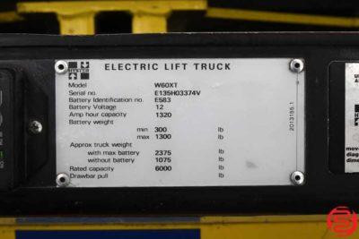 Hyster W60XT 6000 lb Electric Lift Truck - 092719090849