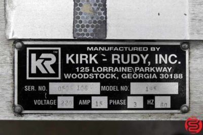 Kirk Rudy KR195 Driven Mail Table - 092519092634