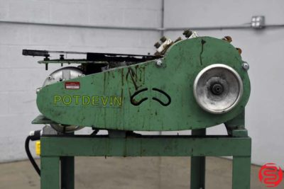 Potdevin ZF Hot / Cold Gluer - 082719085441