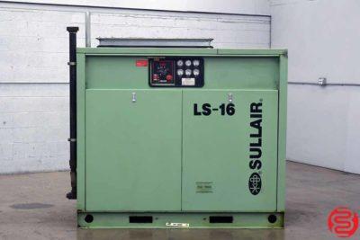 Sullair LS-16 Rotary Screw Air Compressor - 091419110554