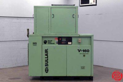 Sullair V160 75 HP Rotary Screw Air Compressor - 091419121523
