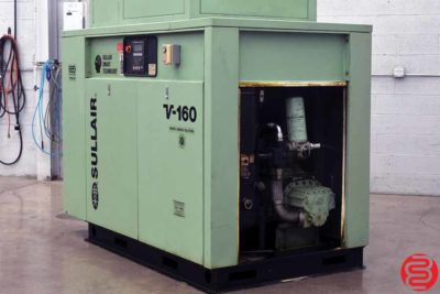 Sullair V160 75 HP Rotary Screw Air Compressor - 091419121523