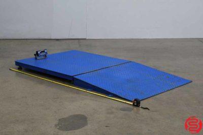 Transcell TI-500E Floor Pallet Scale - 092619111312