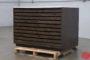Wooden Flat Filing Cabinet - 090419021549