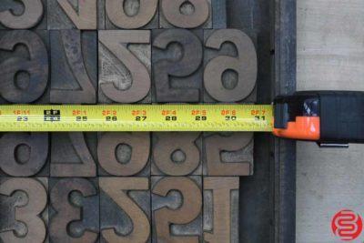Assorted Letterpress Wood Type - 100419011745