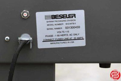 Beseler 1812 Semi-Automatic Shrink Wrap System - 102619084837