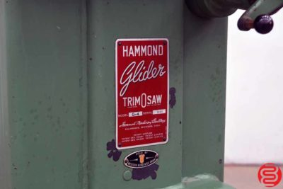 Hammond Glider G4 Trim O Saw Table Saw - 102319021957
