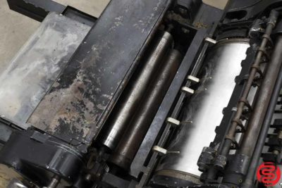 Heidelberg 18 x 23 KSBA Cylinder Die Cutter with Inker - 102519025506