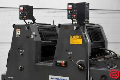 Heidelberg GTOZP 46 Two Color Offset Printing Press - 102819070625