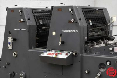 Heidelberg GTOZP 52 Two Color Offset Printing Press - 102519122024