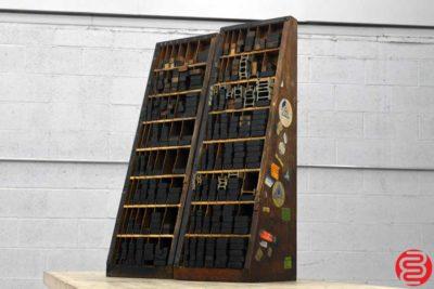 Letterpress Furniture Cabinet - Qty 2 - 101819115456