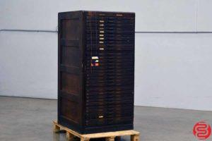 Letterpress Type Cabinet - 31 Drawers - 101719082209